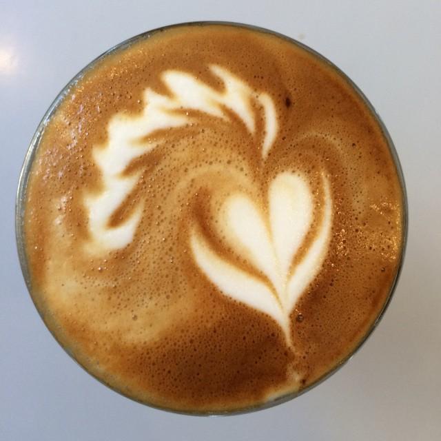 A true work of art @moderncoffee