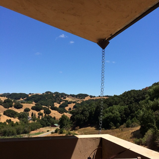 Afternoon work office house sitting retreat in the hills (no cell service, their only on grid thing is DSL line)