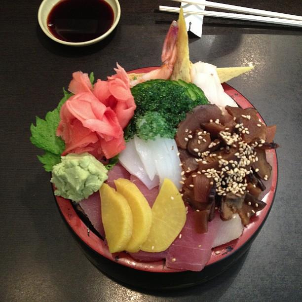 Chirashi bowl!