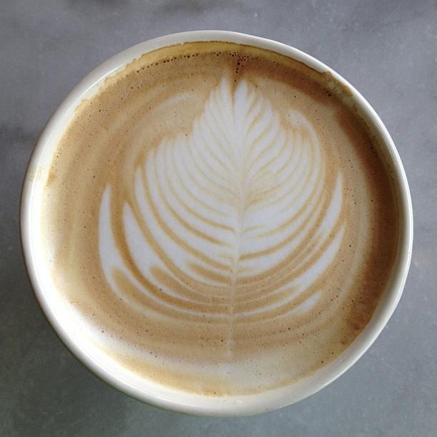Doing spinnaker laundry latte :)