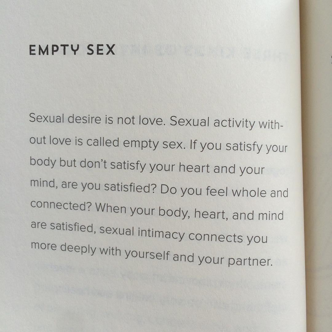 Empty sex