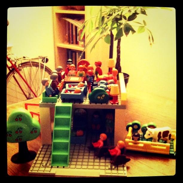 Fun Playmobile family