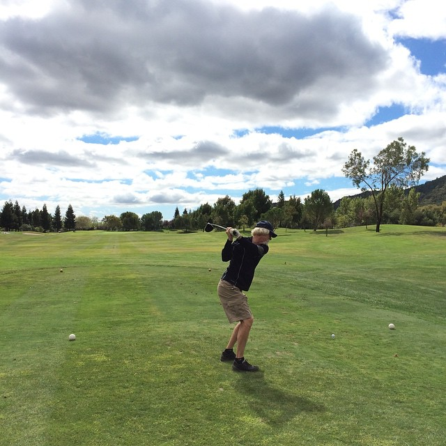 Golf with Jim