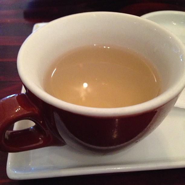 Hojicha green tea mmm