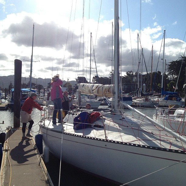 Prepping for Spinnaker Cup