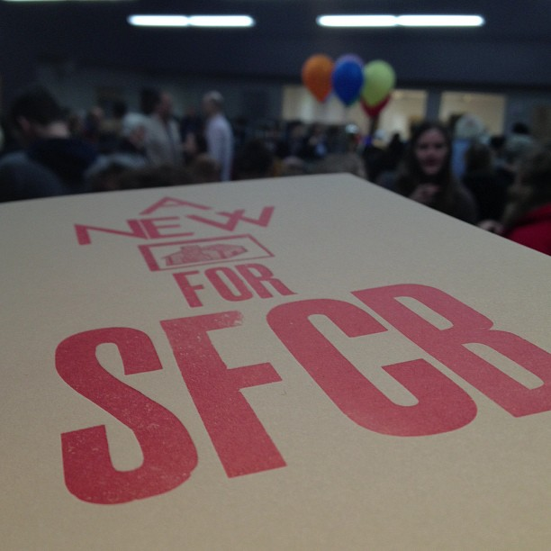 SFCB open house - nice new digs!