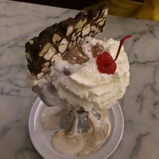Sundae of the month: Rocky Road!!!