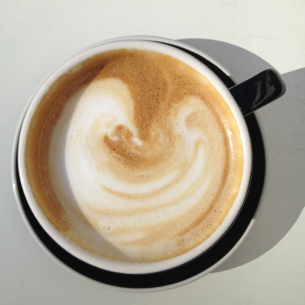 Thursday Burning Man planning latte