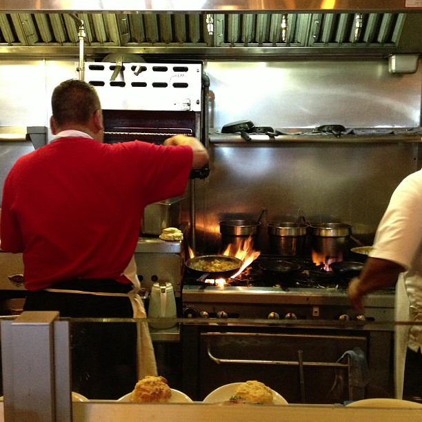 Tip: sit at the back counter and enjoy the open kitchen action!