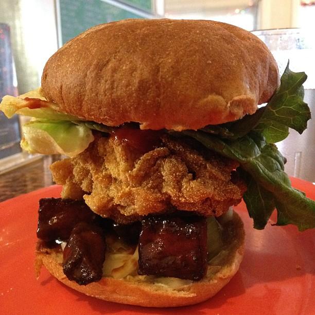 Toasty burger