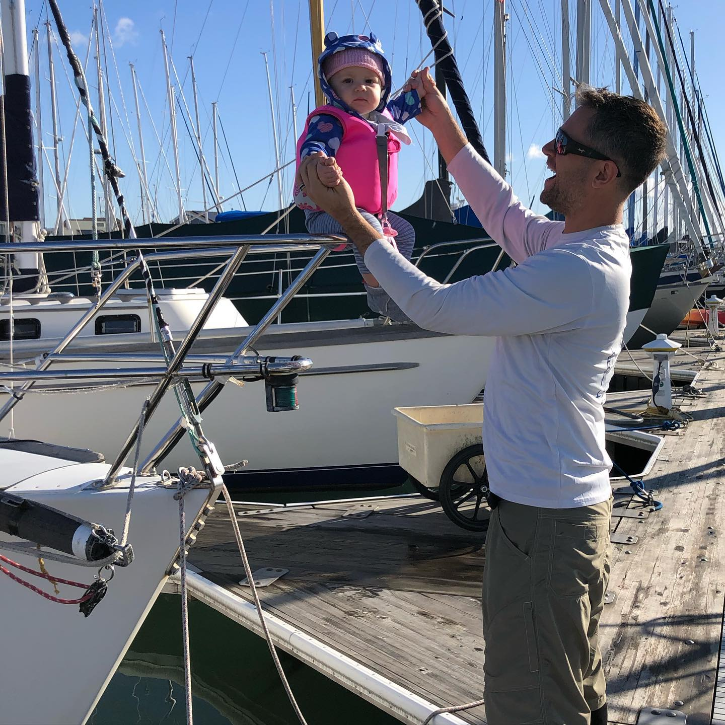 Trading the next generation of bow people :) Stewball Express 37