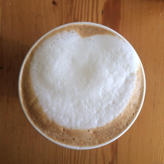 Whole Foods latte