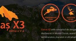 Ciucaş X3 – invitaţie la alergare în Ciucaş rebranded