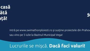 Mâine la Ploiești se înoată pentru fapte bune