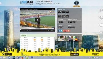 Antrenament virtual pentru SkyRun 24H