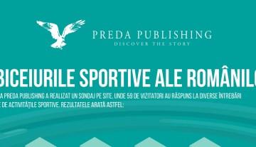 Cât sport fac românii? Infografic Preda Publishing
