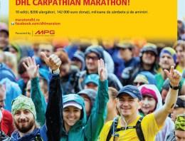 DHL Carpathian Marathon la ediția aniversară cu numărul 10!