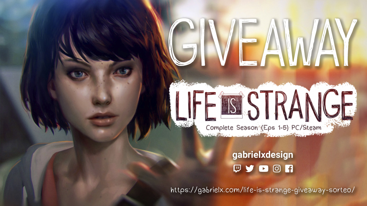 Life is Strange Giveaway – Sorteo