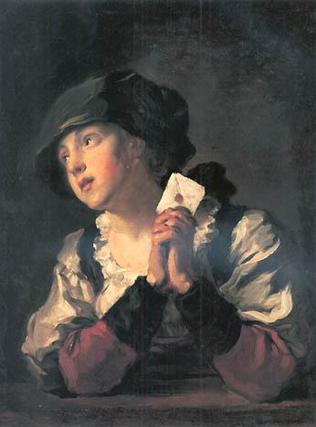 Jean Honoré Fragonard - The Letter