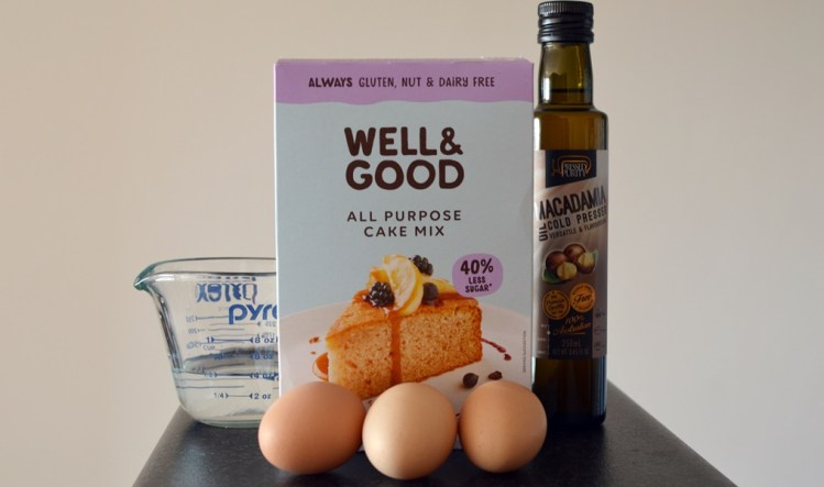 Well & Good cake mix