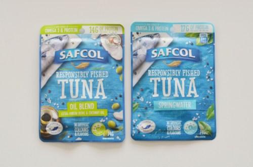 Safcol tuna pouches