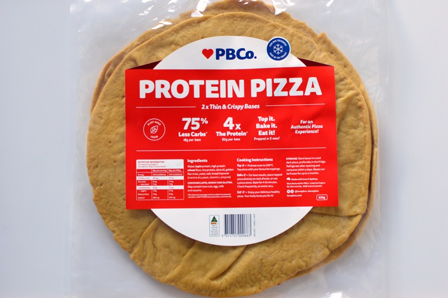 PBCo protein pizza bases
