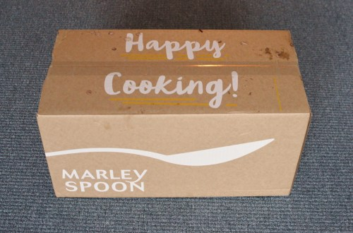 Marley Spoon meal kits