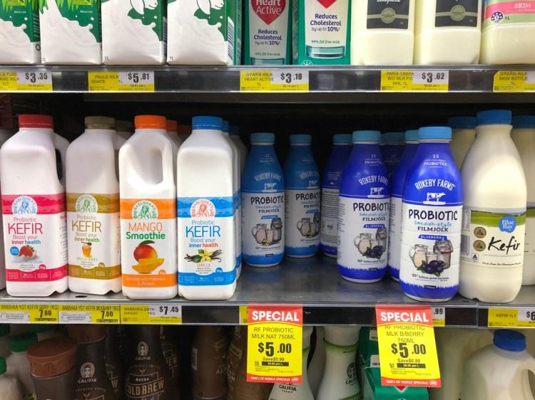Fermented milk drinks