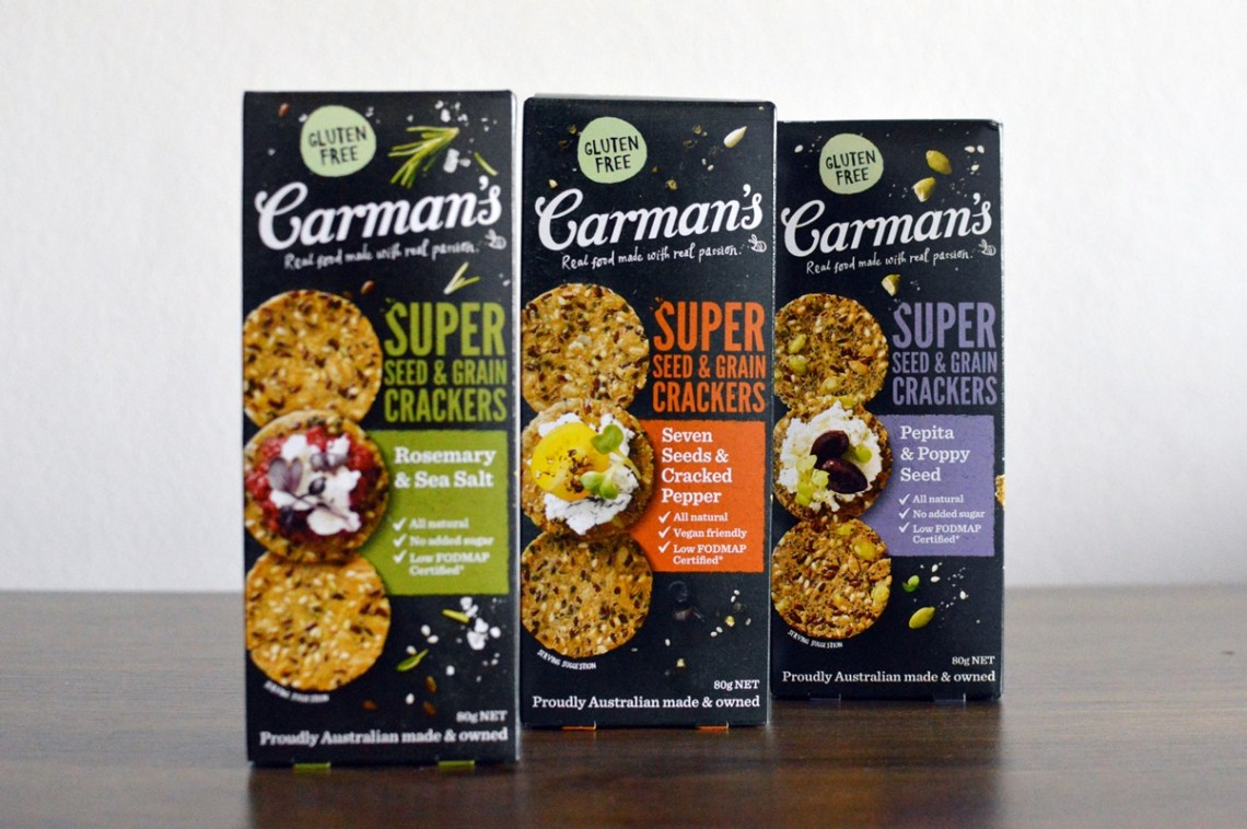 Carman's Super Seed & Grain crackers