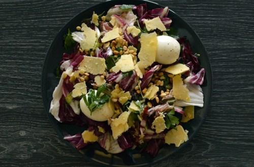 Grown-up radicchio salad