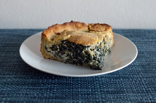 Low carb silverbeet and ricotta pie