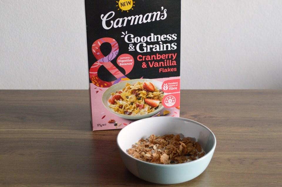 Goodness & Grains Cranberry & Vanilla Flakes