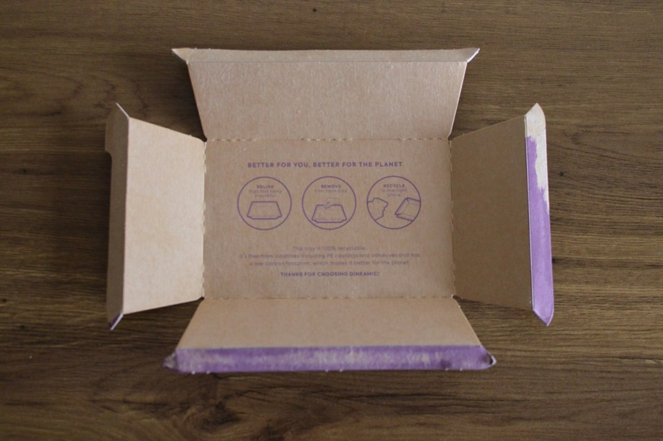 Dineamic packaging