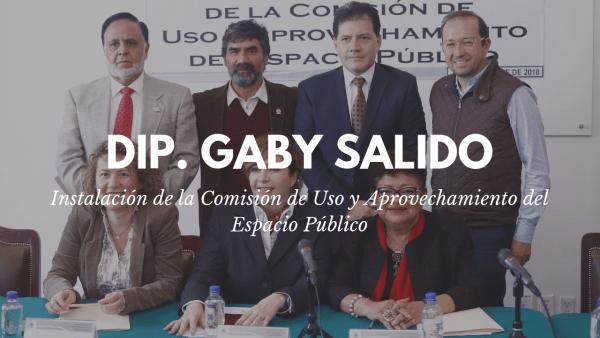 Instalación de la Comisión de Uso y Aprovechamiento del Espacio Público