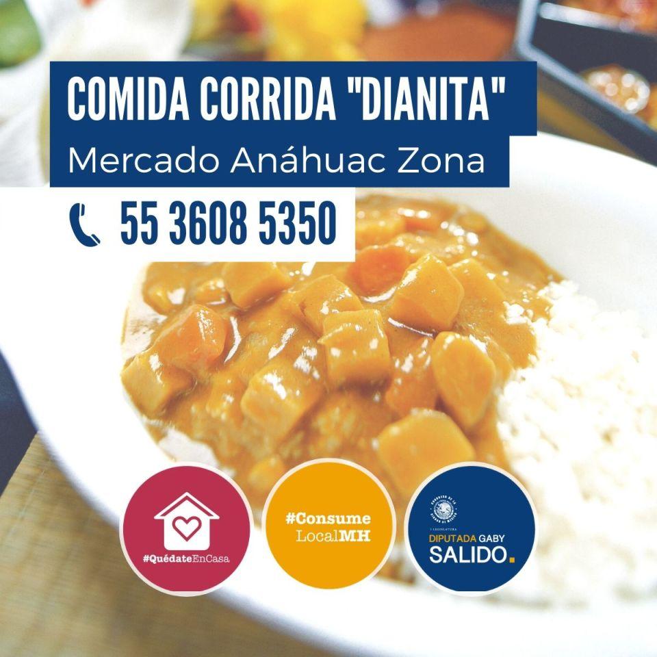 Comida corrida «Dianita»