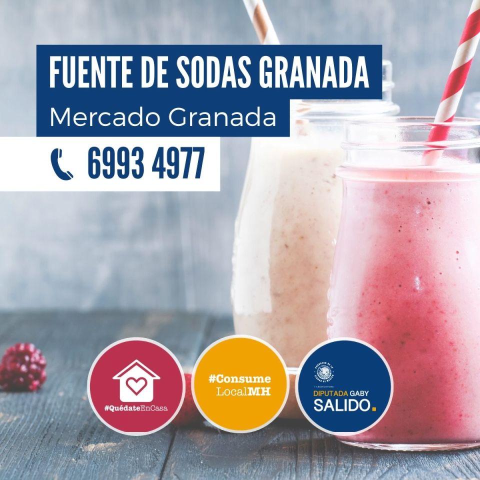 Fuente de sodas Granada