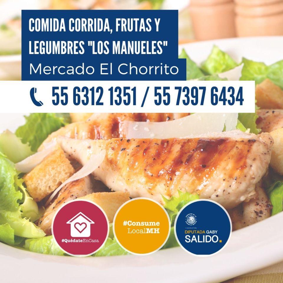 Comida corrida, frutas y legumbres «Los Manueles»