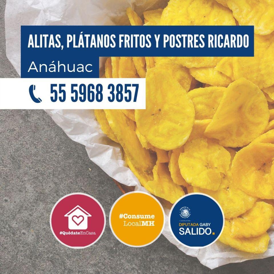 Alitas y Plátanos «ricardo»