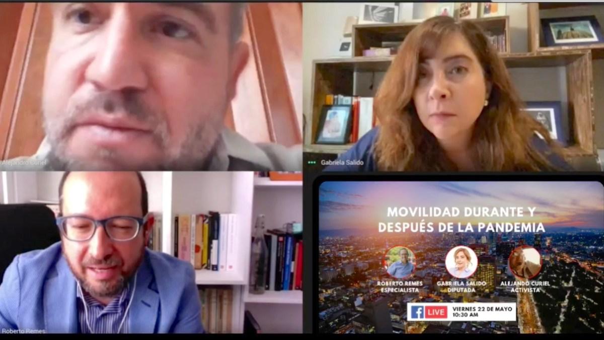 Improvisada y reactiva la actuación en materia de movilidad en la CDMX: Dip. Gabriela Salido