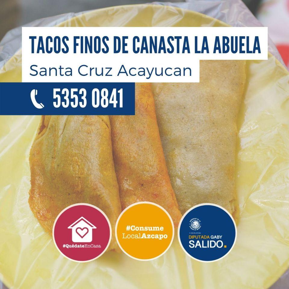 Tacos finos de canasta «La Abuela»