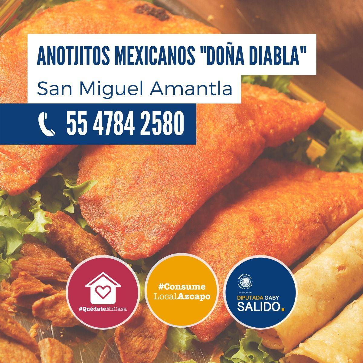 anotjitos mexicanos «Doña Diabla»