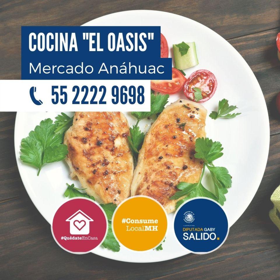 """Cocina """"El Oasis"""""""