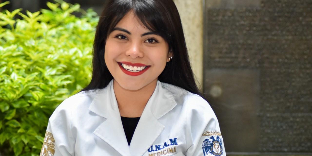 Ximena Rangel,  finalista en el Primer Premio Nacional al Mérito Médico  Estudiantil