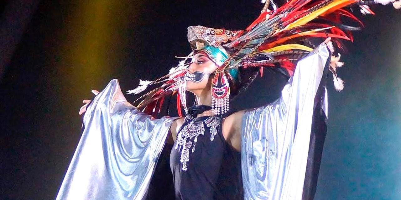 Con danza folklórica conquista Corea del Sur