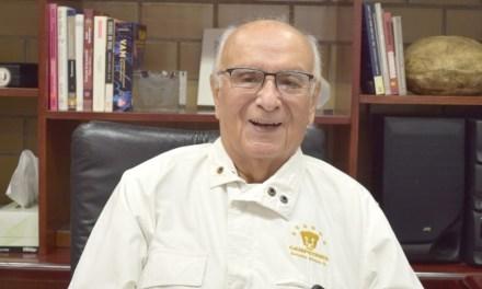 La UNAM es toda mi existencia: doctor Octavio Rivero