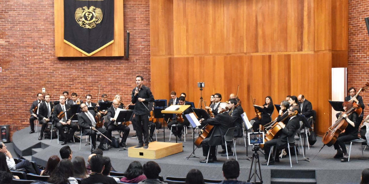 OFUNAM  llena de música a la  Facultad de Medicina