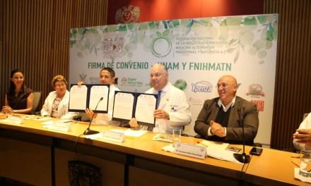 Firman convenio para profesionalizar el estudio de la herbolaria