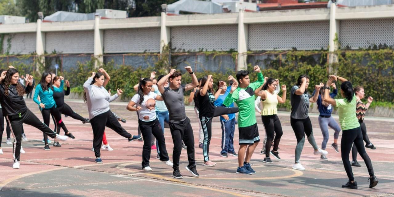 Exhibición deportiva en la FacMed
