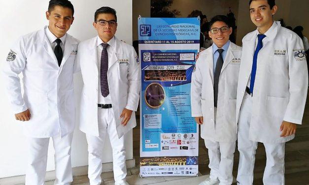 Ganan 1er lugar en Concurso Nacional de Fisiología
