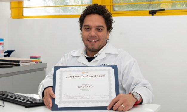 El doctor David Giraldo es reconocido internacionalmente por sus investigaciones